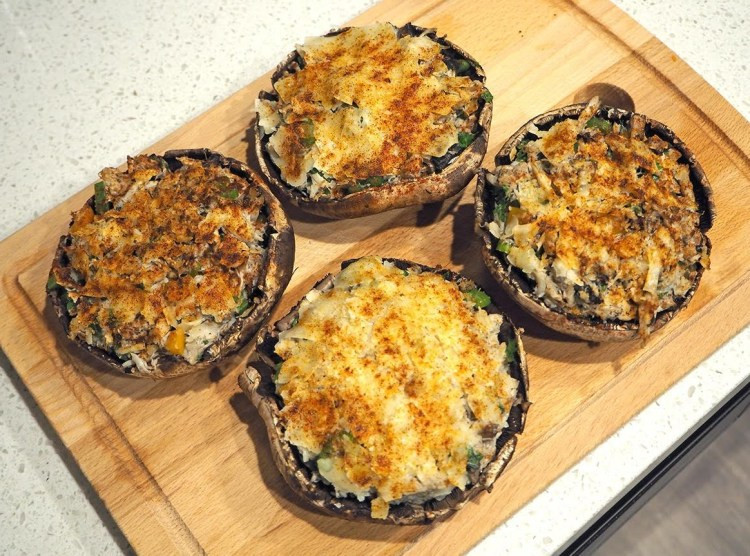 the top 30 ideas about portobello mushrooms stuffed with crab meat  best round up recipe